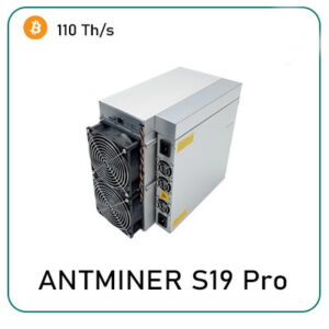 Bitmain Antminer S19 Pro 110TH/s for sale