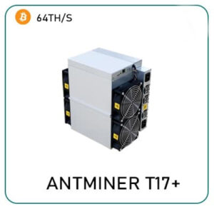 Bitmain Antminer T17+ 64th/s for sale